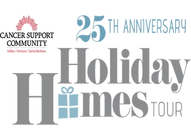 Holiday Homes Tour Tickets! $25 For Early Bird Ticket to Cancer Support Community's 25th Annual Holiday Homes Tour (Value $50)