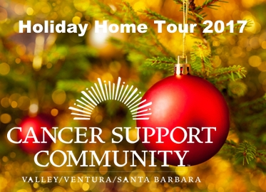 Holiday Homes Tour Tickets! $26 For Early Bird Ticket to Cancer Support Community's 26th Annual Holiday Homes Tour (Value $45)