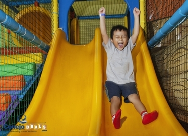Kid's World! Admission Plus $5 Game Card For $9 OR Five Admissions Plus Five $5 Game Cards For $44. Ultimate Fun Center-Indoor Play Ground For Kids Ages 6-Months to 14 Years.
