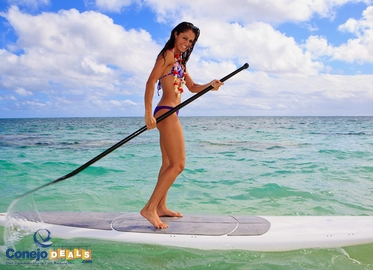 2 Hours of Paddle Boarding! 2-Hour SUP Paddle Board Lesson and Guided Tour of Malibu Coastline With Hana Paddle Boards. Great For Ages 11 and Up. $29 Weekdays; $39 Weekends. 5 High Res Images Included