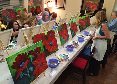Adult Paint Night or Morning Inspiration Coffee and Paint With Art Studio Agoura! 2-Hour Experience For Just $19! Includes Materials! (Value $150)