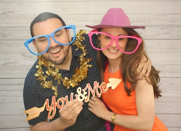 2-Hour Photo Booth Rental With 5-Star Rated Strike-A-Pose Photo Box Starting at Just $199. Photos, Prop Box, and Attendant Included!