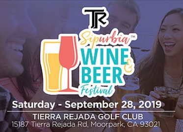 SIPURBIA! $25 For Admission to Sipurbia Wine and Beer Festival at Tierra Rejada Golf Club in Moorpark on September 28th Benefitting The Boys and Girls Club of Greater Conejo Valley! Tastings From Dozens of Wineries and Breweries