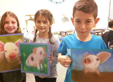$59 for Four Weekly Studio Art Classes (Value up to $200) for Ages 3-Adult or $19 for Four Weekly Story Time Art Classes For Toddlers and Parents (Value $80) With Viridian Art in Agoura Hills!
