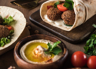 Mediterranean Pita Grill in Westlake and Calabasas! Just $20 for 2 Entrees, 2 Appetizers, and 2 Drinks or $40 for 4 Entrees, 4 Appetizers, and 4 Drinks! Eat-in or Take-out! (Value $46-$92)