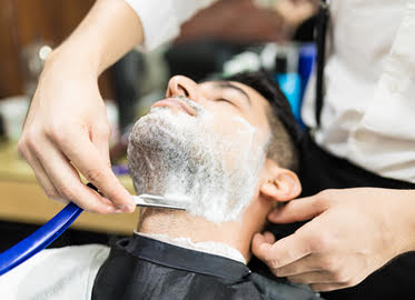 Men's Haircut, Steamed Towel, and Massaging Shampoo with Shane at Born Vogue Salon in Thousand Oaks Starting at Just $12! Opt to Add On a Hot Shave! Great Gift for Valentine's Day! (Value $50-270)